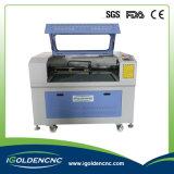 Máquina de estaca de 6090 lasers da gravura de madeira mini