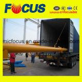 De standaard Transportband van de Schroef van het Cement Shaftless voor Concrete het Groeperen Installatie