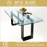 유리제 단단하게 한 유리 또는 가구 유리제 /Tabletop 유리를 부드럽게 하는 정연한 &Round