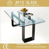Het vierkante Glas van /Tabletop van het Gehard glas van &Round/van het Glas van het Meubilair