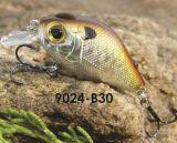 un premier attrait de flottement détraqué sec de pêche de l'amorce 45mm