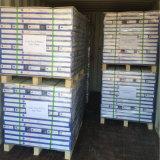 Azulejo de suelo incombustible del vinilo del PVC de la protección del medio ambiente de los verdes
