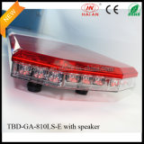 Design novo Police Car Lightbar com Speaker