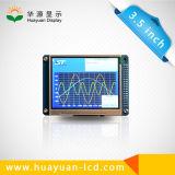 """El LCD visualiza la interfaz paralela 8bit del surtidor 3.5 """""""