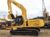 Verwendeter Gleisketten-hydraulischer Exkavator gute Leistungs-KOMATSU-PC220-6 für Verkauf