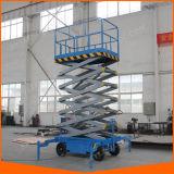 platform van de Lift van de Mens van de Schaar van 16m het Hydraulische Elektrische voor de Bouw van Onderhoud met Ce