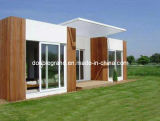 Casa viva pré-fabricada de aço da luz econômica \ casa modular