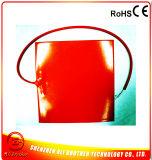 Chaufferette 550*550*1.5mm 110V 800W d'imprimante des silicones 3D