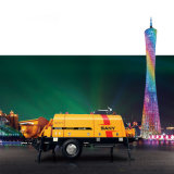 Sany Hbt6006A-5 70m³ Bomba concreta eléctrica del acoplado de /H