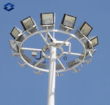 高いマストの照明鋼鉄ポーランド人に塗る30m電流を通された粉