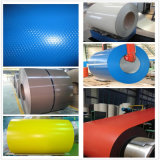 0.13-1.2mm bobine en acier galvanisée enduite d'une première couche de peinture et colorée de PPGL/PPGI