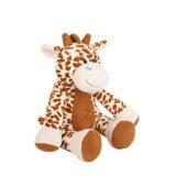 귀여운 아이 연약한 장난감 동물은 판매를 위한 지라프 견면 벨벳 장난감을 채웠다