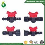 Ajustage de précision micro agricole de robinet à tournant sphérique de PVC de jardin en plastique