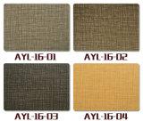 Fabrik-Natur-hölzernes Planke-Vinyl, das Innendekoration-Laminat Belüftung-Bodenbelag ausbreitet