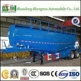 Du ciment 45 M3 de transport de réservoir bas de page en bloc de camion semi