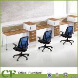 Stazione di lavoro del personale del cubicolo del calcolatore dei 6 delle sedi dell'ufficio divisori del divisorio