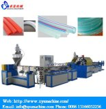 Manguito del alambre de acero del PVC/máquina reforzados espirales del estirador del tubo