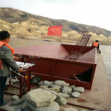 배, 모래 선적 배를 수송하는 모래