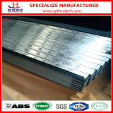 Panneau ondulé en acier galvanisé par zinc plongé chaud de G90 26ga
