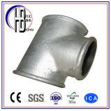 Instalación de tuberías apropiada de la plomería de la te del acero inoxidable de los Ss
