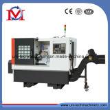 중국 정밀도 기울기 침대 선형 가이드 CNC 선반 기계 (TCK6336)