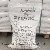 Hidróxido de alumínio do Whiteness de 6 mícrons de altura para o adesivo de enchimento