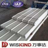 년 2016 Prepainted 물결 모양 금속 지붕 장