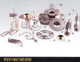Pièces de rechange hydrauliques de pompe à piston de Kawasaki K3V45/63/112 et pièces de réparation