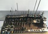 Motor de piso híbrido do router redondo do CNC NEMA34