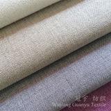 Polyester 100% de toile de tissu de regard de capitonnage pour le sofa