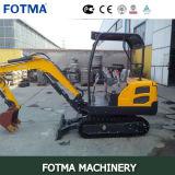 Mini venta del excavador de Fotma Fmjh18