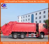 Hochleistungs6x4 Sinotruk HOWO Verdichtungsgerät-Abfall-LKW 8cbm