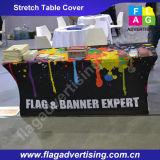 Throw da tabela do estiramento da impressão de cor cheia/tampa de tabela feitos sob encomenda