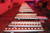 12X10W RGBW 4 in 1 van de Lichte LEIDENE van het Stadium Licht van de Staaf van de Strook van de Voering van de Vloed Wasmachine van de Muur