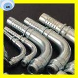 Raccord de tuyau hydraulique droit DIN2353 de 45 degrés métriques