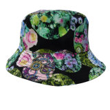Sombrero del compartimiento con la tela floral (BT053)