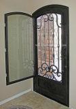 カスタマイズされたアークの上の錬鉄の単一のドア