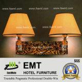 Lumière luxueuse de mur de chambre à coucher d'hôtel (EMT-L15)