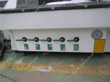 Máquina de gravura de madeira de alumínio do CNC do gabinete da base de porta da tabela do perfil