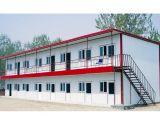 Edificio prefabricado chino con la estructura de acero del marco de acero