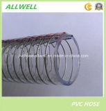 """Belüftung-Plastikstahldrahtfeder-Spirale-Schlauch-Absaugung-Schlauchleitung 1 """" 2 """""""