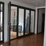 Дверь складчатости K07006 профиля термально пролома высокого качества алюминиевая