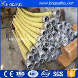 Tubo de bombeo resistente del concreto reforzado de la tela de la abrasión