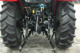 Waw agricultural 55HP 4WD trator com cabine da China