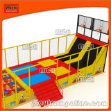 Mich Unique Design Outdoor Children Trampoline Park с Basketball Hoop