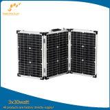 Складывая панель солнечных батарей 3*30W для Camping
