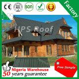 鋼板屋根ふきシートの石の波形の屋根瓦の建築材料
