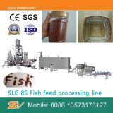 Doubles machines de nourriture de poissons de boudineuse à vis
