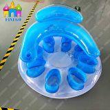 熱い販売のおもちゃ浜の膨脹可能な浮遊空気PVC椅子の浮遊物の工場価格