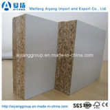 4ftx8FT 벽면을%s 돋을새김되거나 광택 있는 매트 완료 멜라민 파티클 보드 또는 마분지